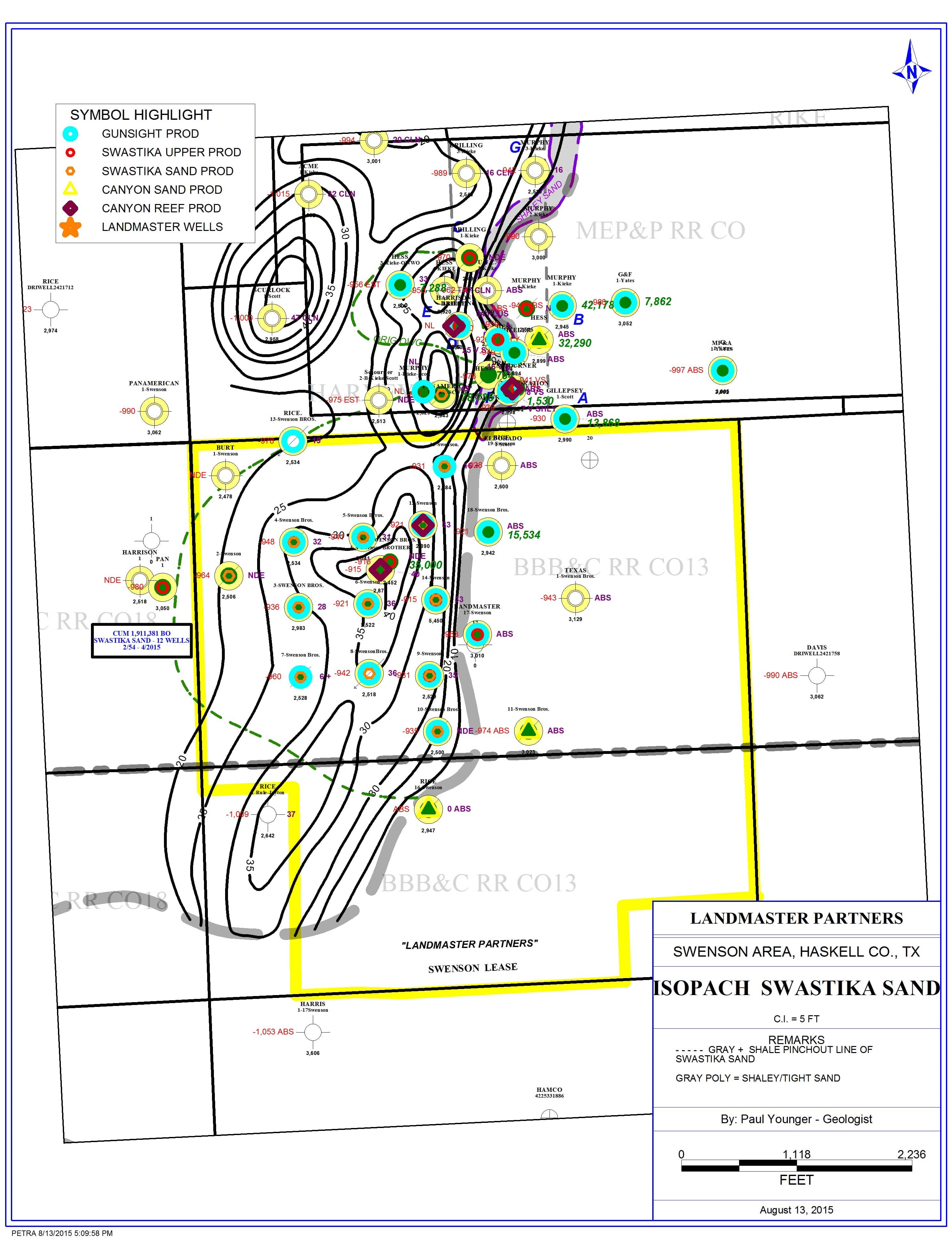 Texas Properties – South Plains Petroleum, Inc